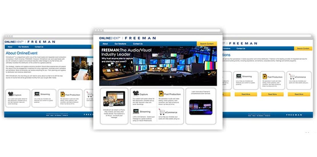 Freeman - Online Event Management