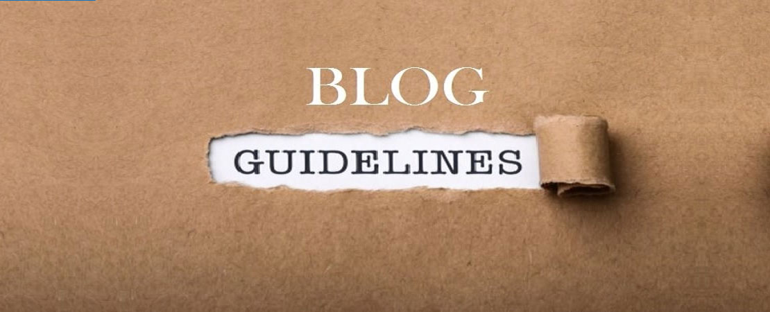 Blog Guidelines