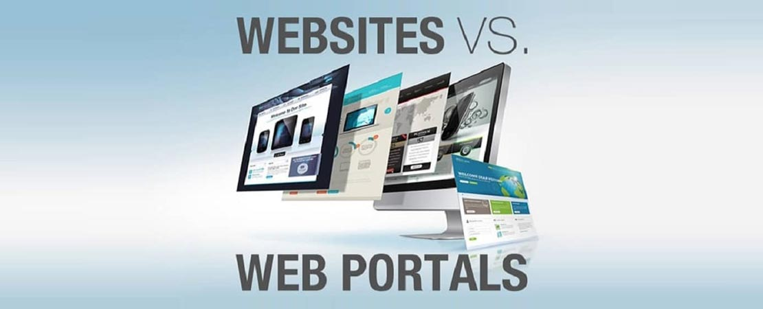 Web Portal And A Website