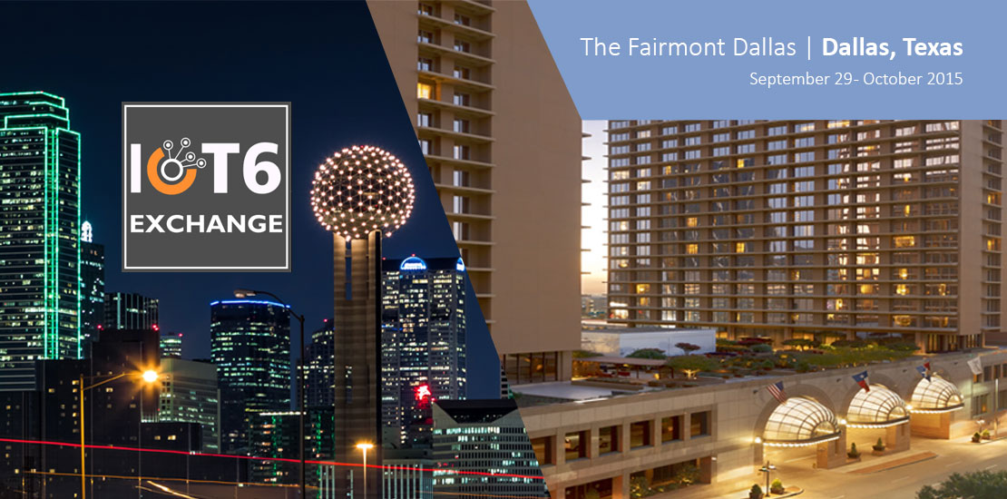 IoT Exchnage Summit 2015 Dallas Texas