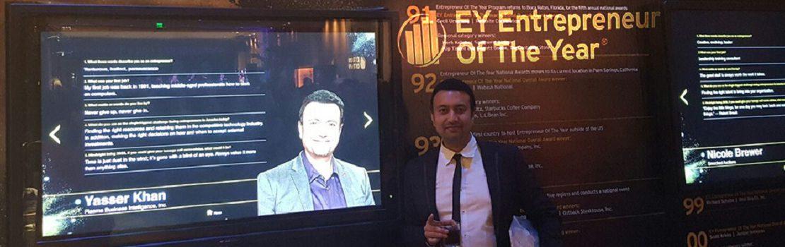 EY Entrepreneur of the year 2016