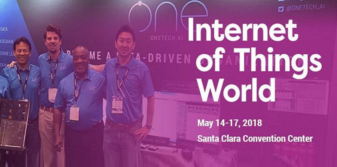 Plasma Team ONE Participates in IoT World 2018