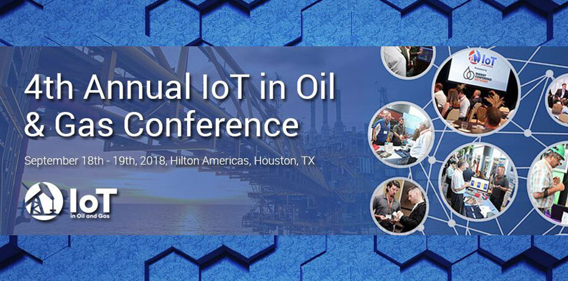 Plasma annual IoT oil and gas conference Houston