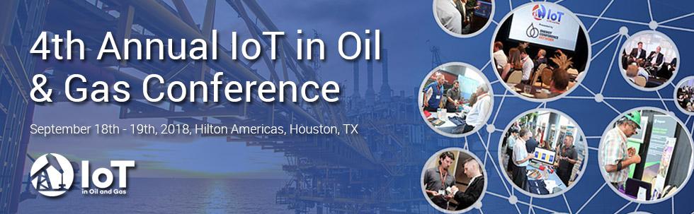 Plasma Participates in Annual IoT in Oil & Gas Conference 2018 in Houston