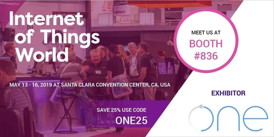 IoT World 2019 Santa Clara Cpnvention center USA