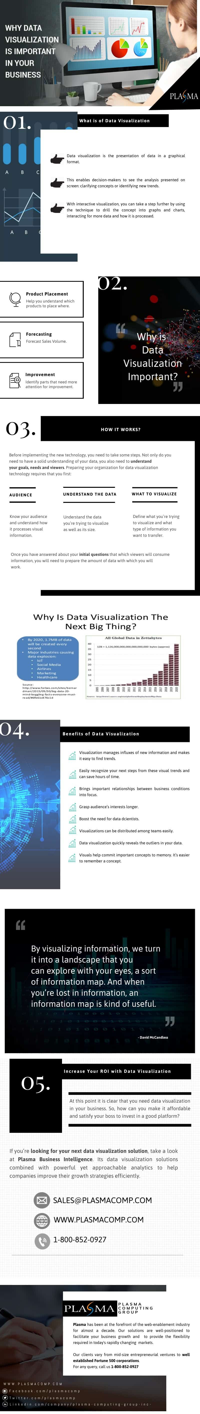 Data Visualization for business