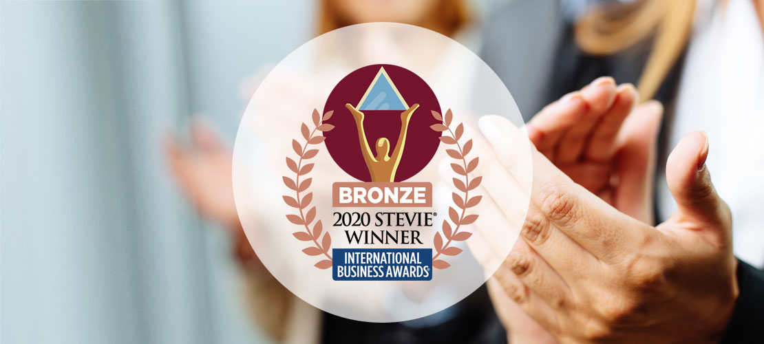 ONE Tech Wins Stevie® Award in 2020 International Business Awards®