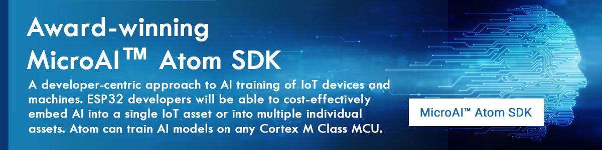 Award-winning MicroAI™ Atom SDK