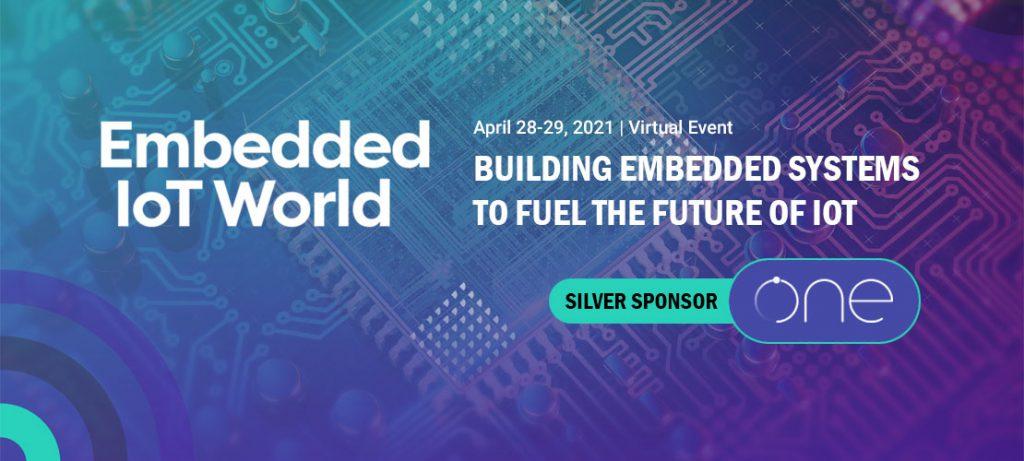 Embeded IoT World Silver Sponsor - ONE Tech